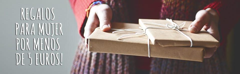 regalos originales para mujeres por menos de 5 euros